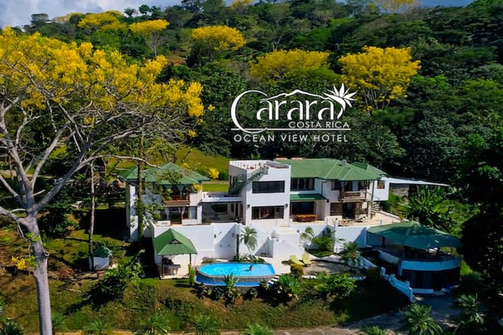 Carara Ocean View Boutique Luxury Hotel 2 Beds