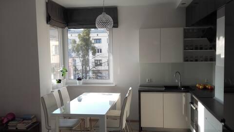 apartament w centrum Bydgoszczy (private garage)