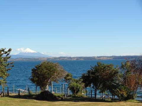 Casa en parcela de agrado Lago Puyehue, Mantilhue