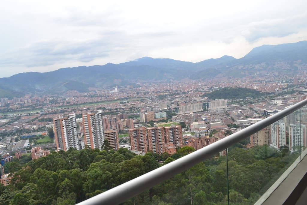 Excelente vista de toda la ciudad.