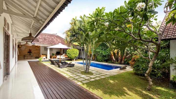 ☀︎ DISCOUNT NOW! Spacious villa in Seminyak