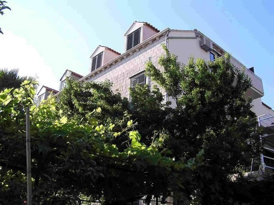house- southern facade