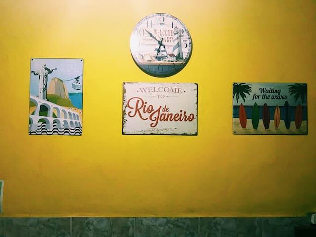 Quartos na Zona Sul do Rio ao lado do metrô