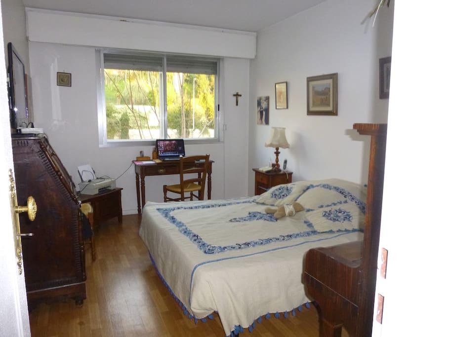 Chambre 1 lit 160 ou 2 lits en 80 cm