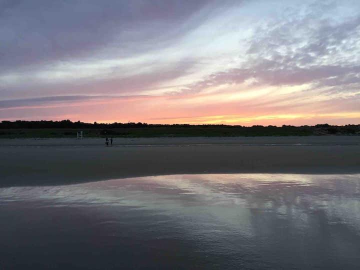 Oceanfront serenity.