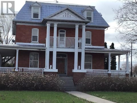 Charming historic home, located in a small town