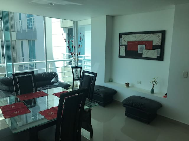 Lindo y acogedor apartamento en Santa Marta!!