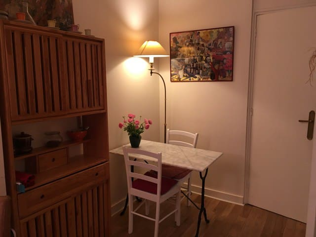 Just remodeled Studio St Sulpice , Bail Mobilité