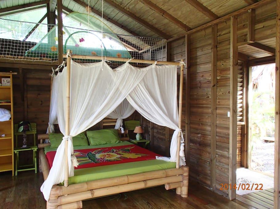 Chambre Bambou.