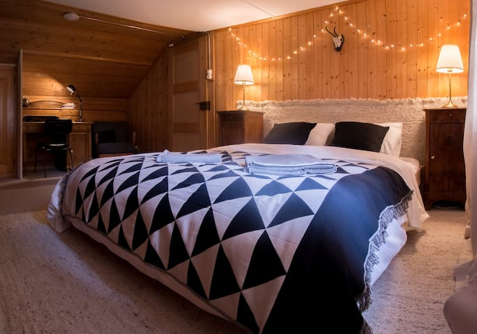 Chalet Savioz / 6 rooms apartment in kandersteg