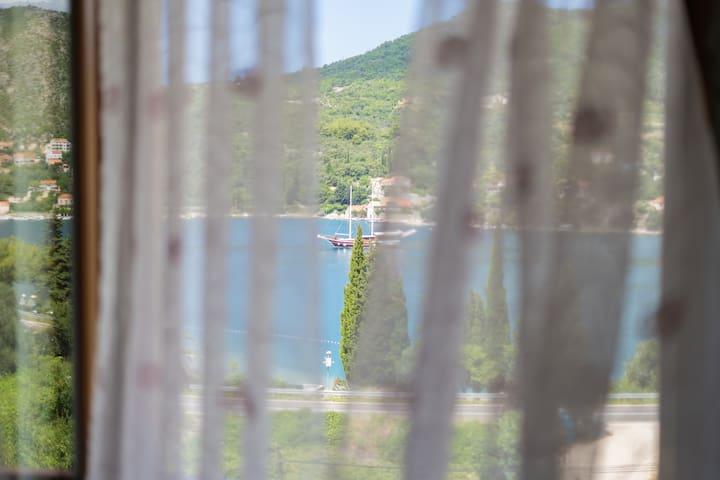 Villa Nave - Revelin Apartment balcony, sea view