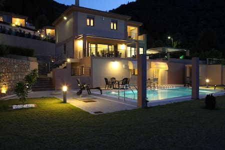 Villa Amphitrite full of luxury and comfort - Lefkada - Villa