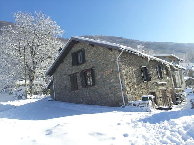 Chambre dans maison de montagne - Ax-les-Thermes - Hus