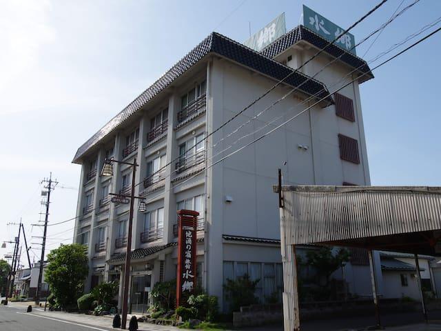 しあわせひょうたんの宿 旅館水郷 和室 Japanese-style room and onsen