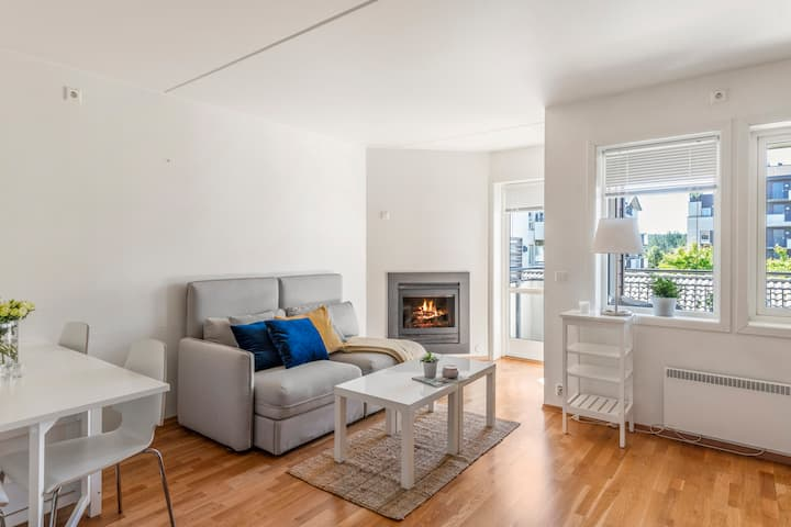 Central apartment ten minutes from Oslo Airport