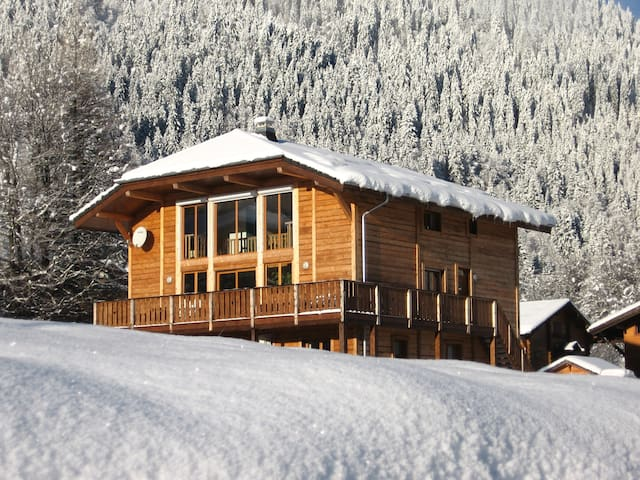 Large luxury chalet with beautiful views - Essert-Romand - Chalet