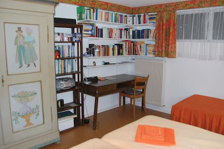 Quiet Small Apartment at Konstanz - Münsterlingen - Apartemen