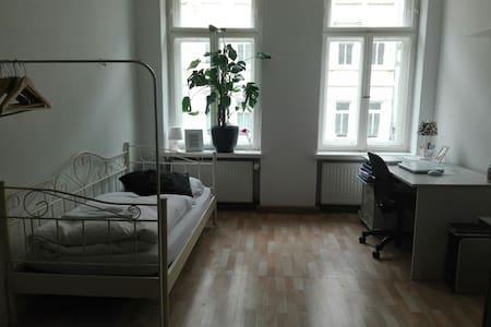 Großes, gemütliches Privatzimmer m. ÖPNV-Anbindung - Leipzig