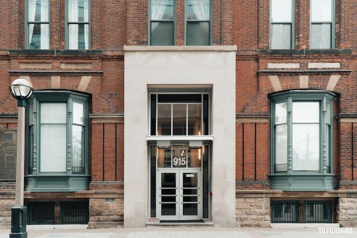 Massey Harris Loft—Main Entrance