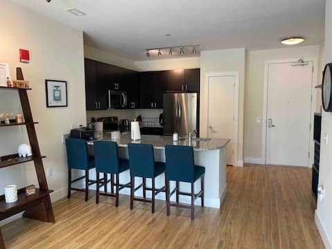 Lovely two bedroom condo minutes from BWI Airport.