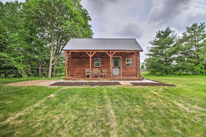 NEW! Quiet Cabin w/ Grill, Pond + Walking Trails!