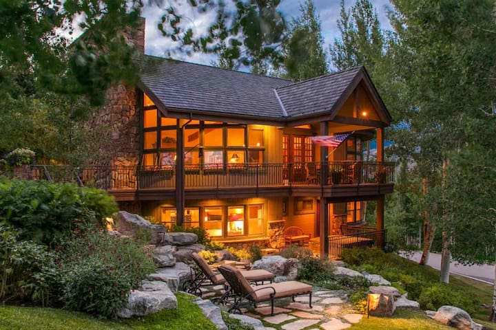 Single Family Beaver Creek Home, 180 Degree Views of BC, Private Hot Tub, Great for Large Groups! - Beaver Creek - Ev