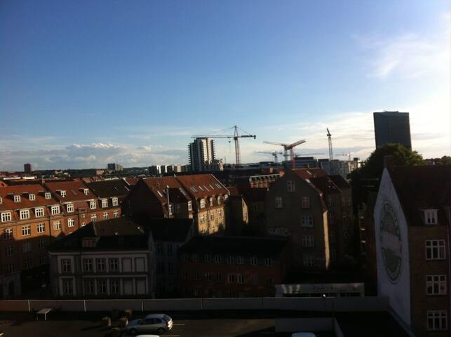 Amazing view in the center of Aarhus - Aarhus - Apartemen