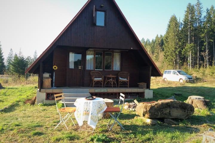 Romantická chata v tichom prostredí nad Martinom