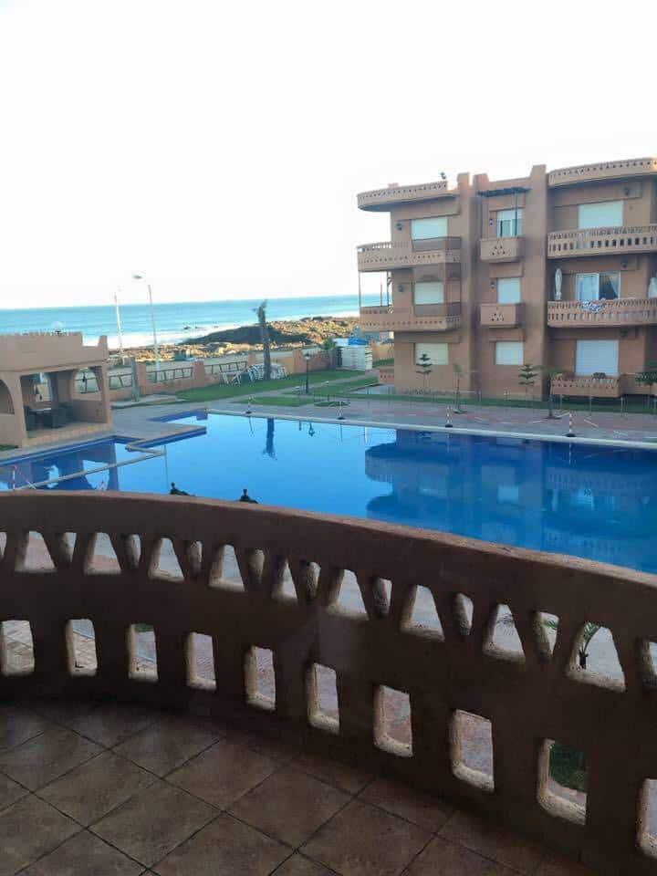 Appartement  vue sur piscine et sur mer Mansouria