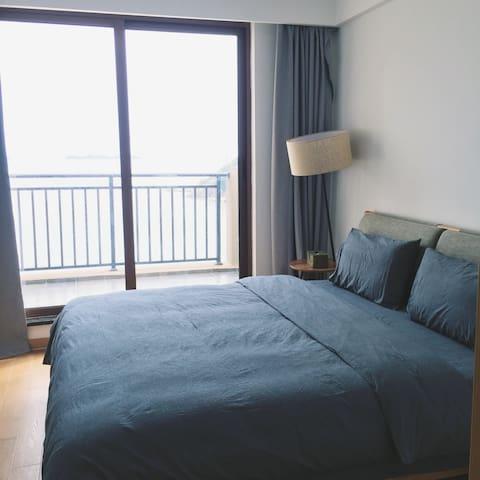 嵊泗天悦湾度假村全海景公寓(2幢1201室 位于菜园镇石柱村) - Zhoushan - Apartamento