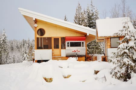Tin Poppy - Winter glamping in the Larch Hills BC - Salmon Arm - Other
