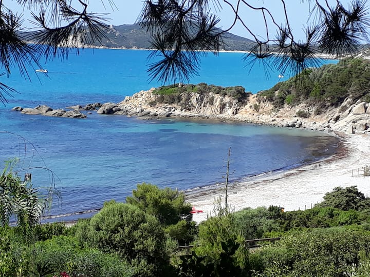 Beach house, Villasimius, south Sardinia