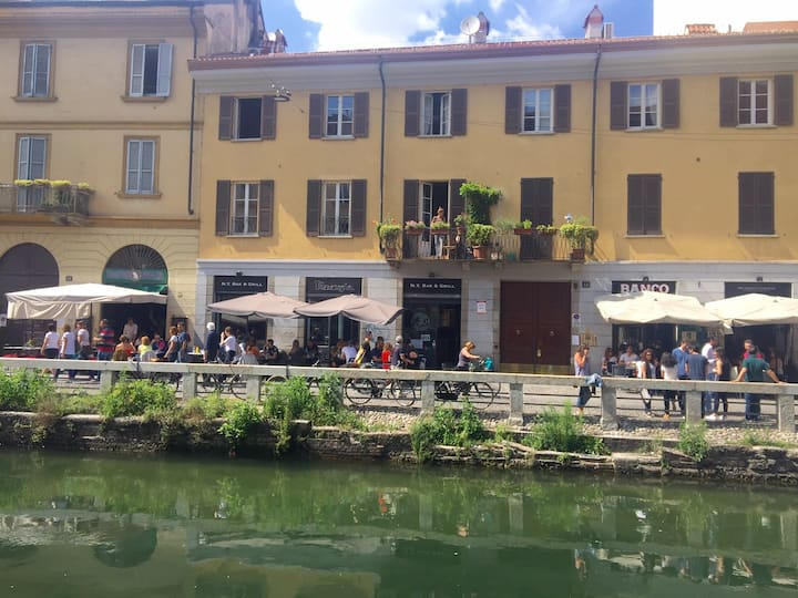 The dolcevita on the canals, free wifi