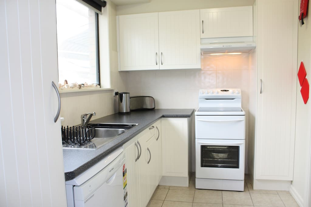 Well equipped  Kitchen, with  dishwasher, microwave