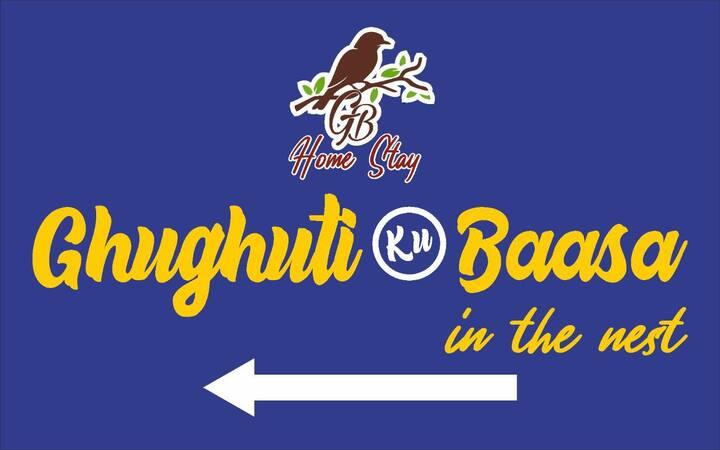 Ghughuti Baasa- In the nest