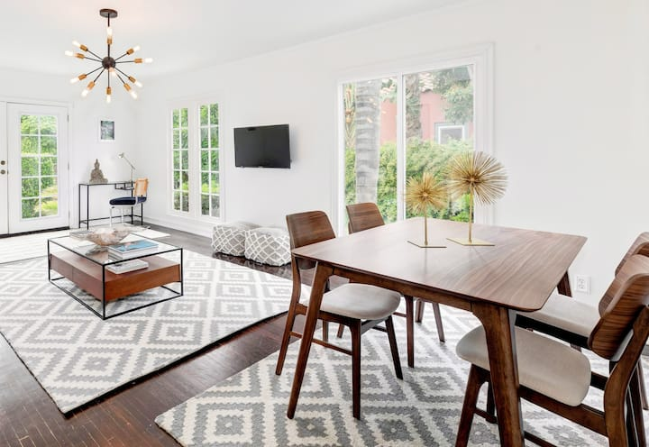 MELROSE - West Hollywood WHOLE HOUSE!  RARE FIND