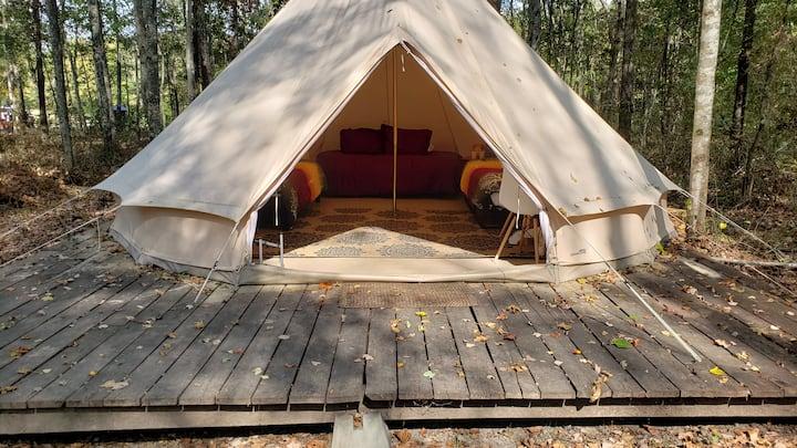 Bohemian Bell at Sassy Springs Retreat