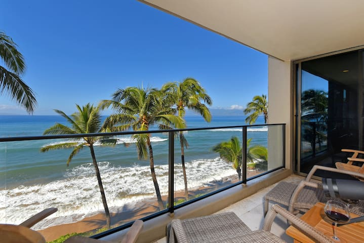 MAUI~ OCEAN FRONT WITH SPECTACULAR VIEWS - Kaanapali - Kondominium