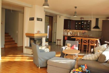 Beautiful large apartment with 4 bedrooms + garden - Kraków-Krowodrza - Huoneisto