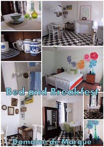 B&B kamer  Domaine de Margue - Artigat - Bed & Breakfast