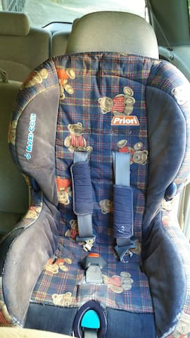 Baby chair in our car