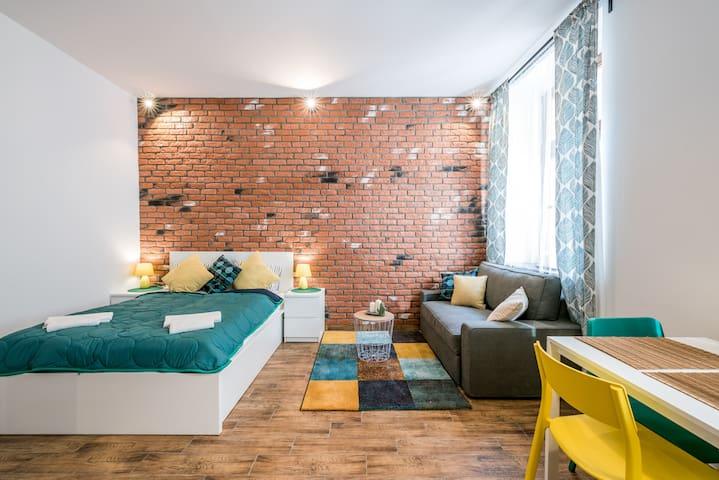 Przytulny Apartament w Centrum 100 metrów od Rynku