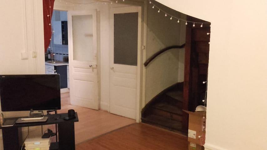 Appartement convivial, bien situé - Saint-Étienne - Appartement
