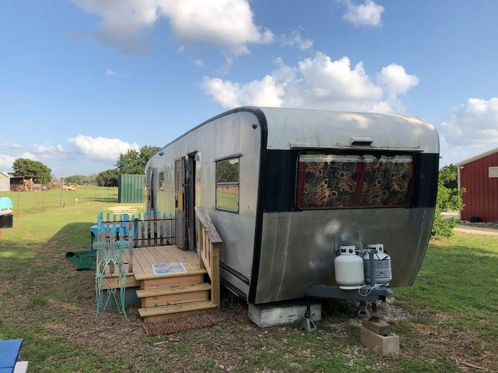 Vintage Spartan Travel Coach | Vacation | Texas