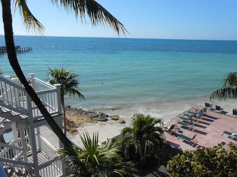 Estudio frente al mar privado Sandy Beach en Key West