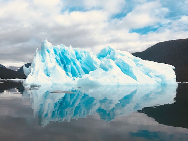 Iceberg from the LeConte glacier nearby