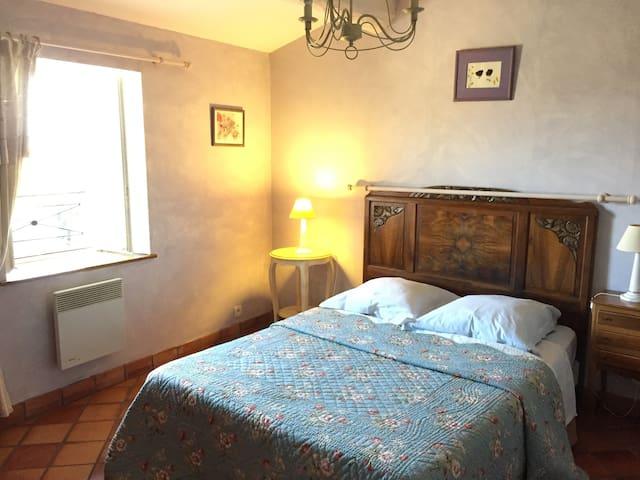 Chambre double avec vue sur le Vercors