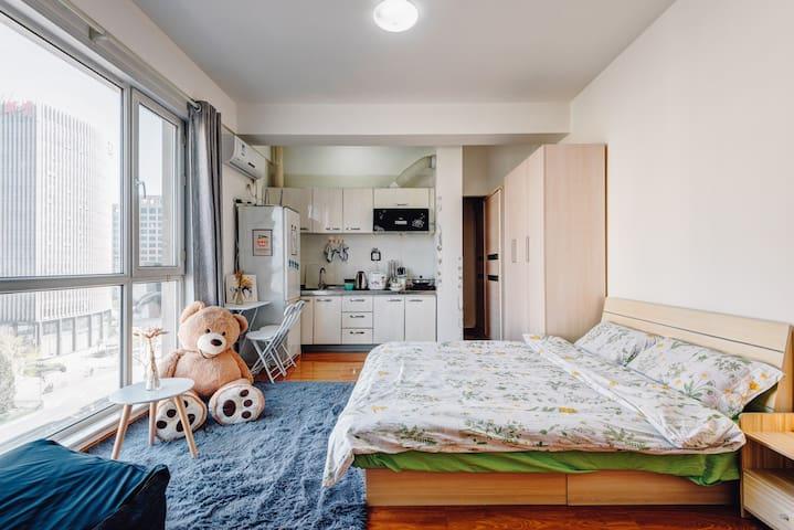 任性二环里 西单王府井 对面即是宣武医院 菜市口地铁现代一居室 - beijing  - Lägenhet