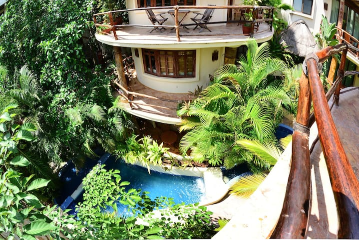 Romantic private jacuzzi best location in playa - Playa del Carmen - Apartamento