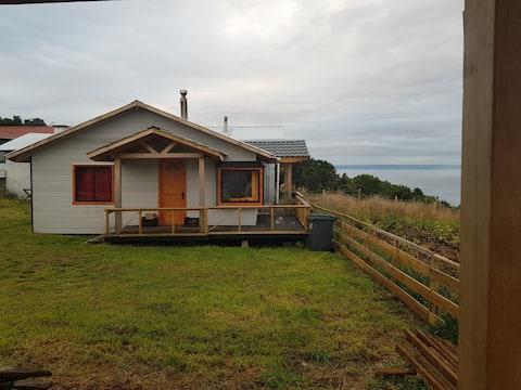 Cabaña vista al mar paz y tranquilidad      Achao